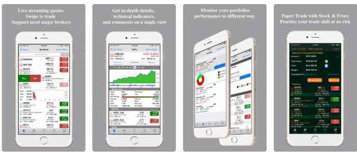 Aplicación de comercio en tiempo real
